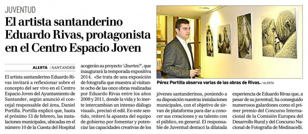 Eduardo Rivas Prensa Diario Montanes