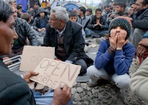 refugiados sirios en grecia