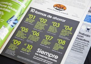 Diseno de Panfletos de publicidad en Santander