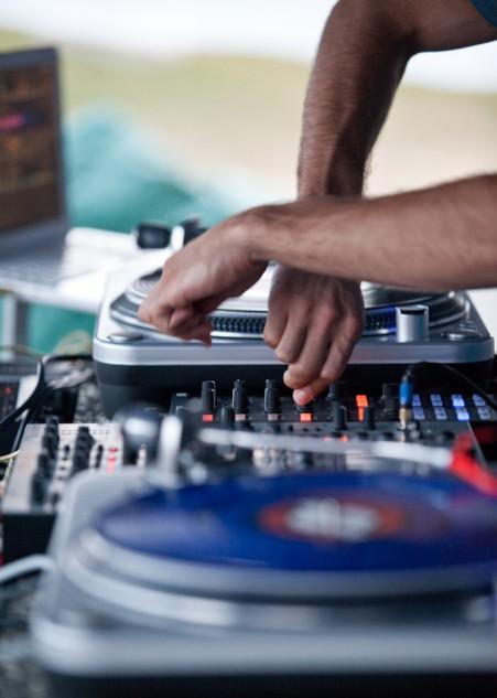 evento de musica electronica