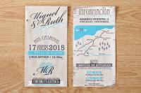Diseño de invitaciones de boda en Santander